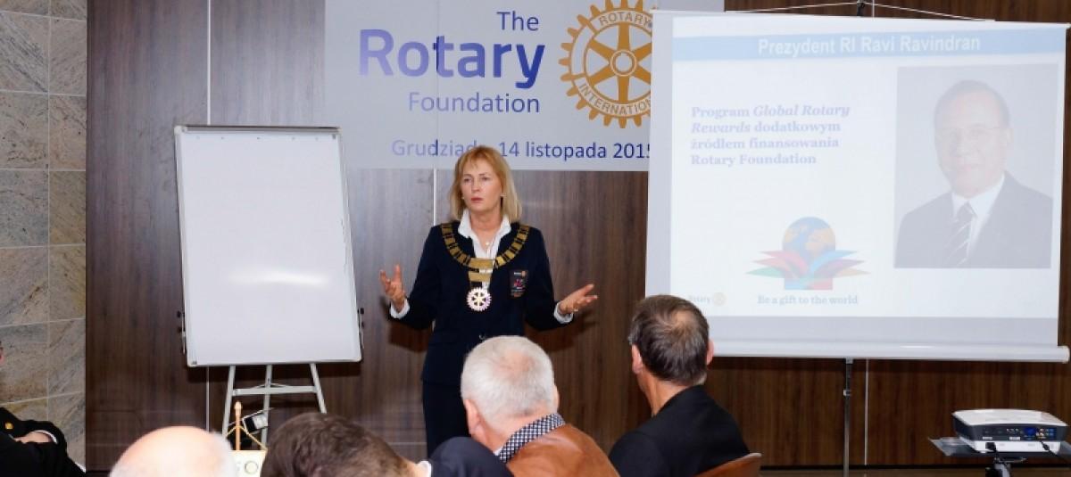 Polio i granty, czyli Seminarium Rotary Foundation