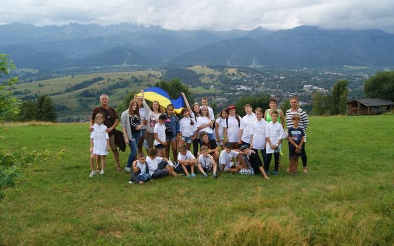 Dzieci z Ukrainy w Polsce