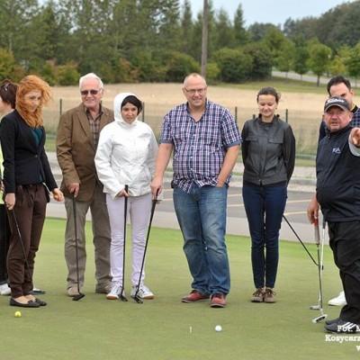 Turniej golfowy
