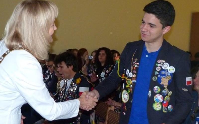 Studenci wymiany młodzieżowej w Polsce