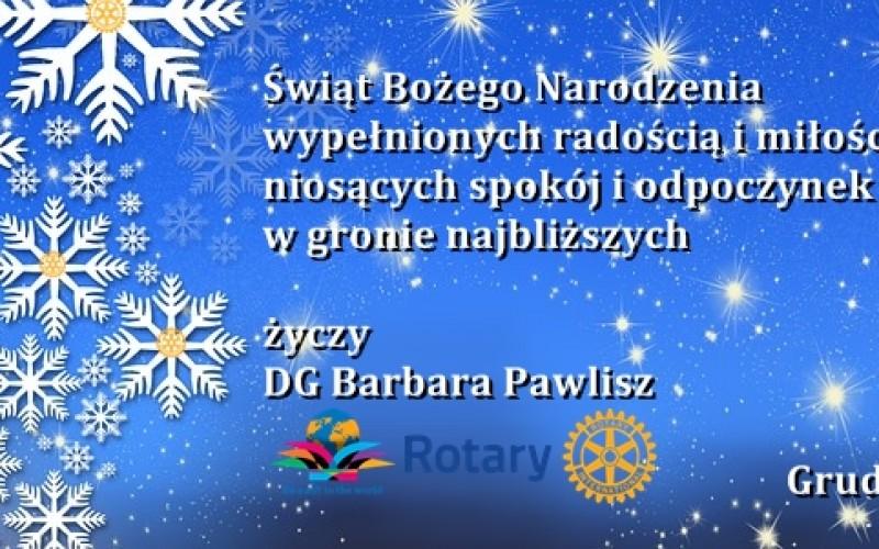 Życzenia od Gubernator Barbary Pawlisz