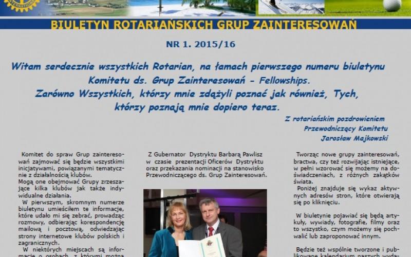 Biuletyn Rotariańskich Grup Zainteresowań
