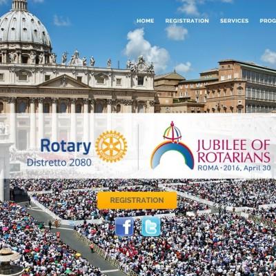 Jubilee of rotarians