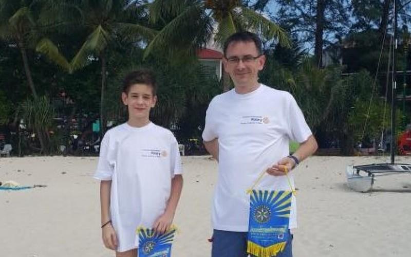 Syn i tata w podróży dookoła świata