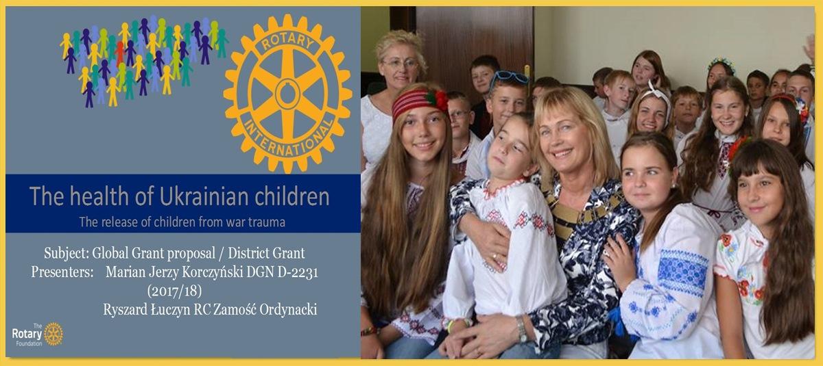 Projekt – Zdrowie dzieci z Ukrainy