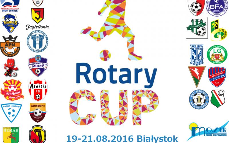 """Pierwszy turniej piłkarski dla dzieci """"Rotary Cup"""" w Białymstoku"""