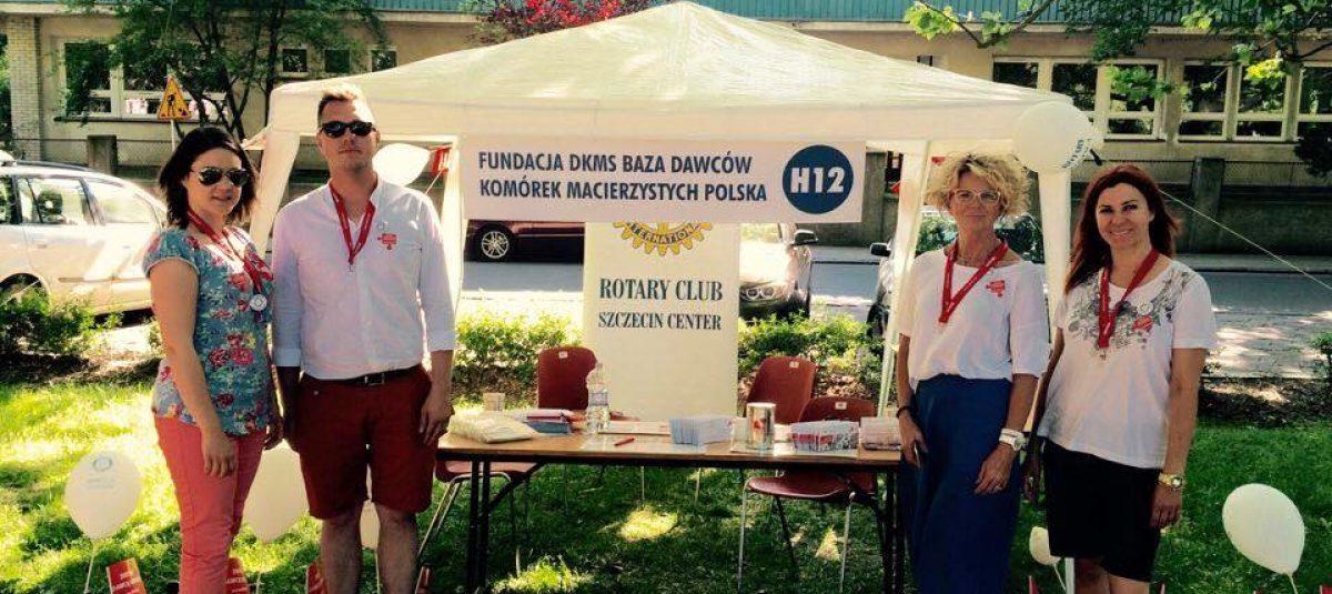 RC Szczecin Center rejestrował dawców szpiku