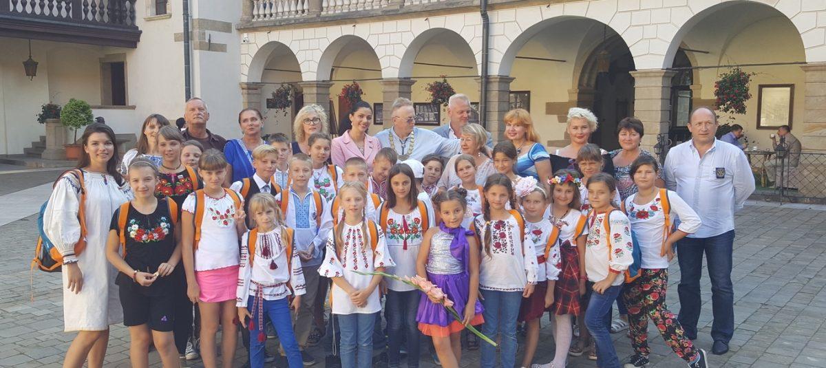 Ukraińskie dzieci na wakacjach w Zakopanem