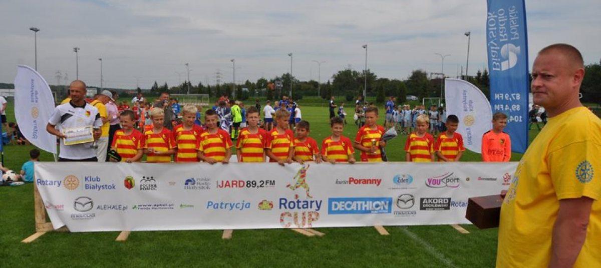 Pierwszy turniej piłkarski Rotary Cup już za nami