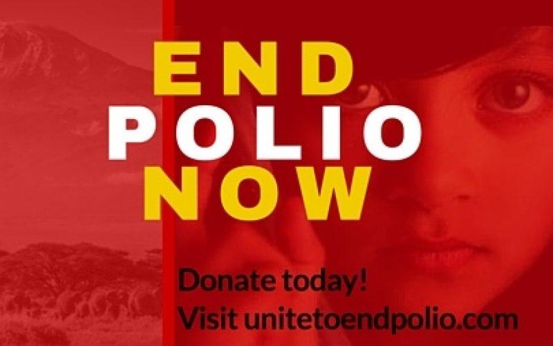 Studenci jednoczą się, aby zlikwidować polio