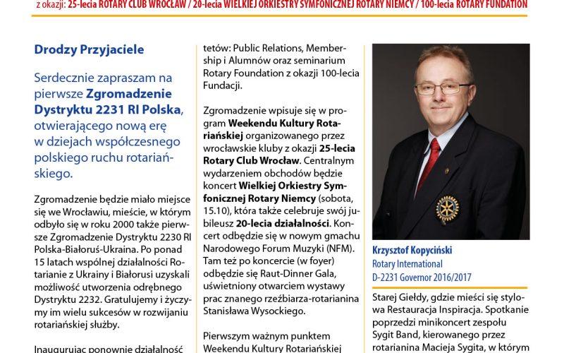 Biuletyn informacyjny Wrocław 2016