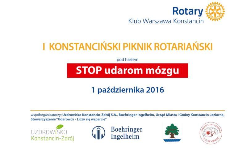 I Konstanciński Piknik Rotariański