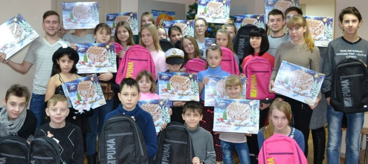 Prezenty wigilijne dla polskich dzieci w Kaliningradzie
