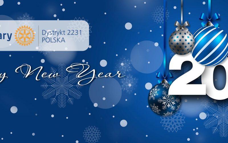 Polscy Rotarianie życzą pięknych chwil w Nowym Roku