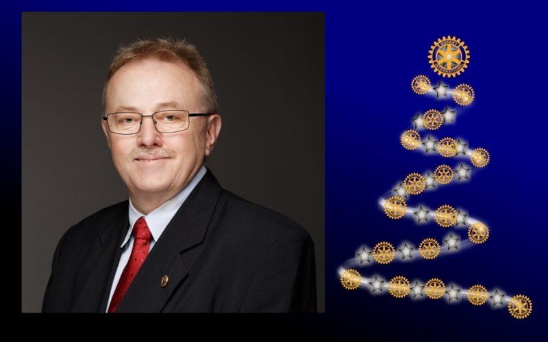 Życzenia od Gubernatora Dystryktu 2231 Polska Krzysztofa Kopycińskiego