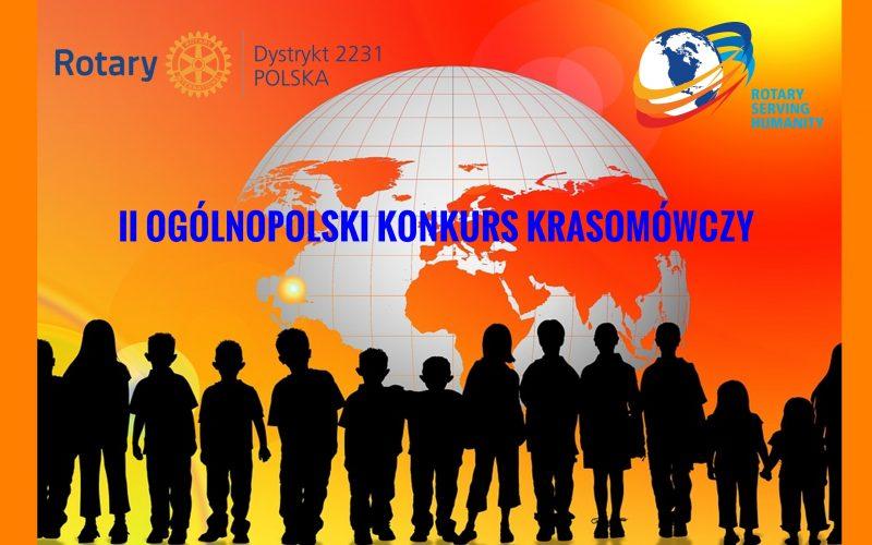 Rotary zaprasza na Konkurs Krasomówczy