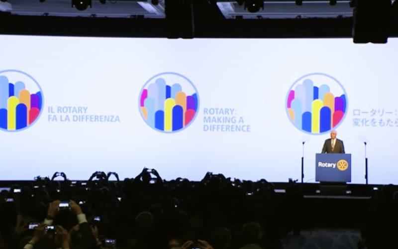 Obejrzyj: Prezydent elekt – Ian H.S. Riseley ogłasza hasło i nowe logo na kadencję 2017/2018