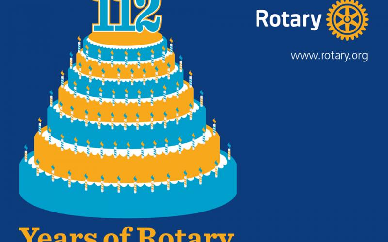 112 lat Rotary International