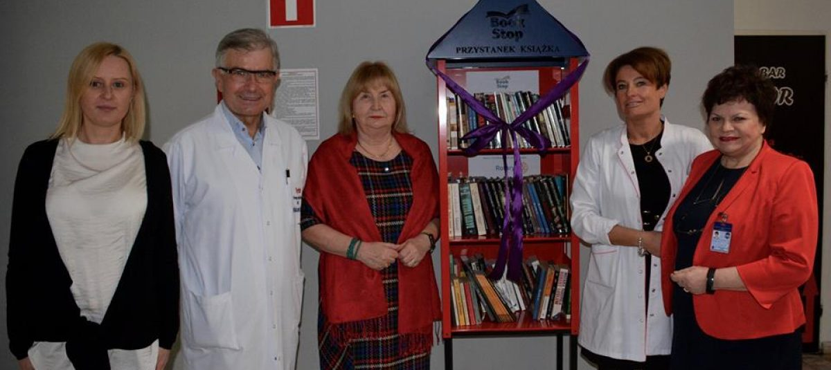 Book Stop dla warszawskiego szpitala