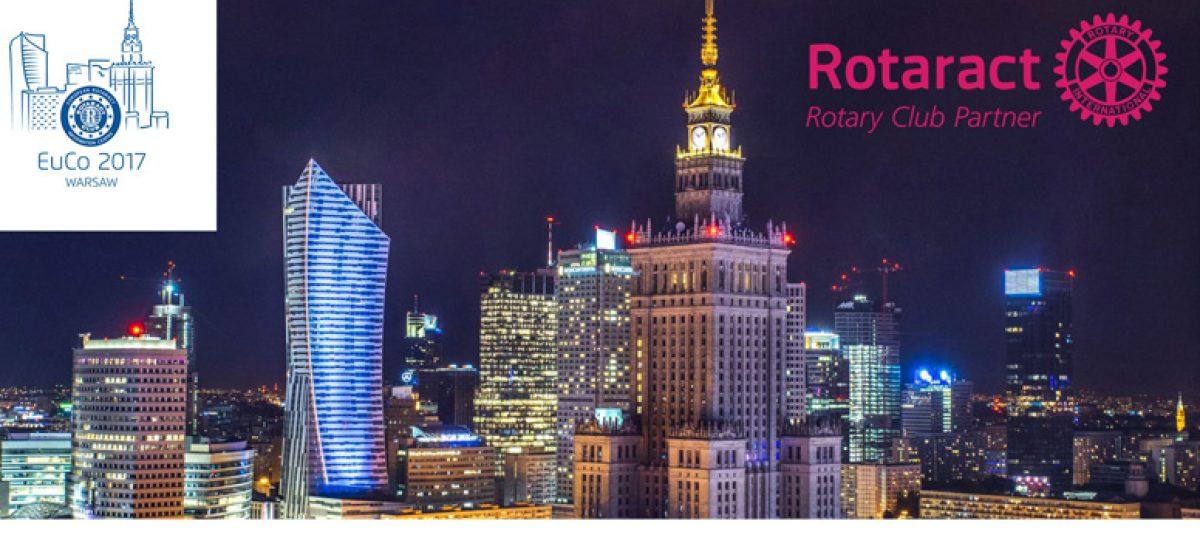 Największa Europejska Konferencja Rotaract w maju w Warszawie!