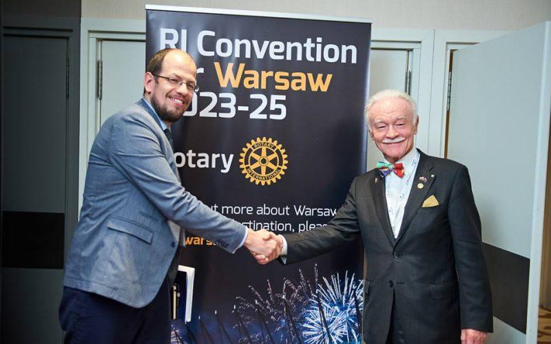 Konwencje Rotary – Warszawa i Atlanta