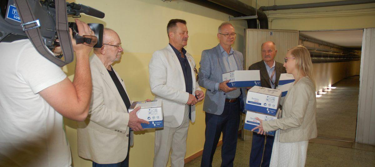 Rotariańskie pompy ratują życie