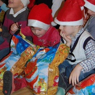Mikołaj w Domu Dziecka