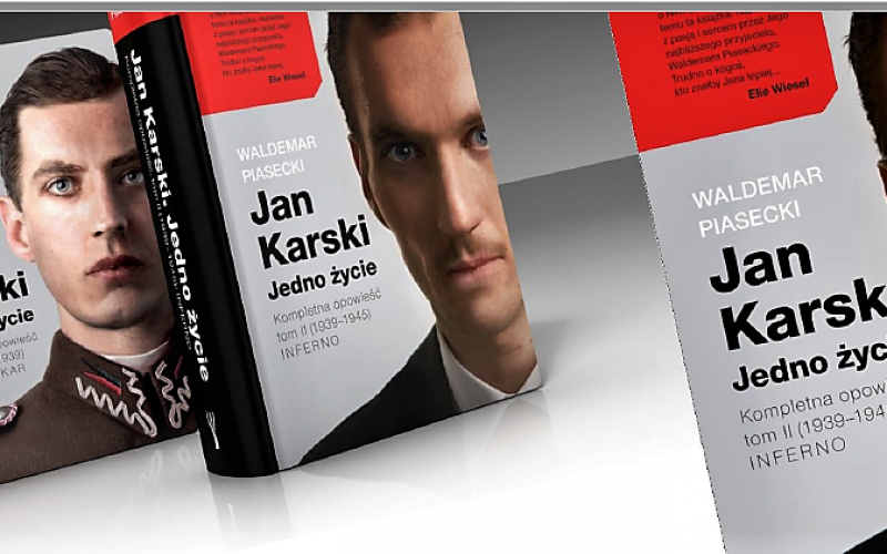 Premiera książki o Janie Karskim