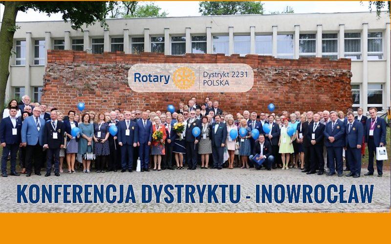 Konferencja Dystryktu 2231 w Inowrocławiu