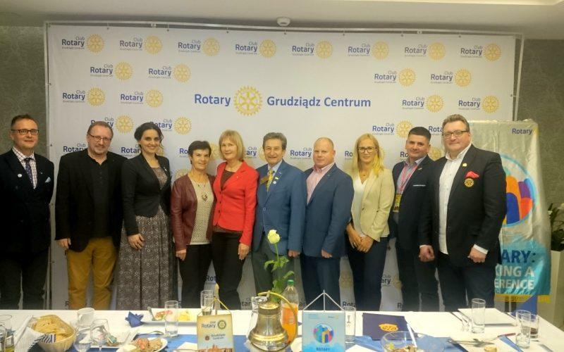 Spotkanie Prezydentów Klubów w Grudziądzu oraz czarter nowego Klubu Interact
