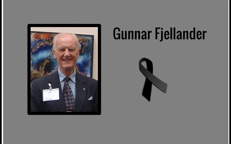 Gunnar Fjellander – odszedł wielki Przyjaciel polskiego dystryktu Rotary z lat 90