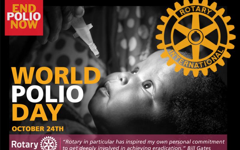 24 października – Światowy Dzień Walki z Polio