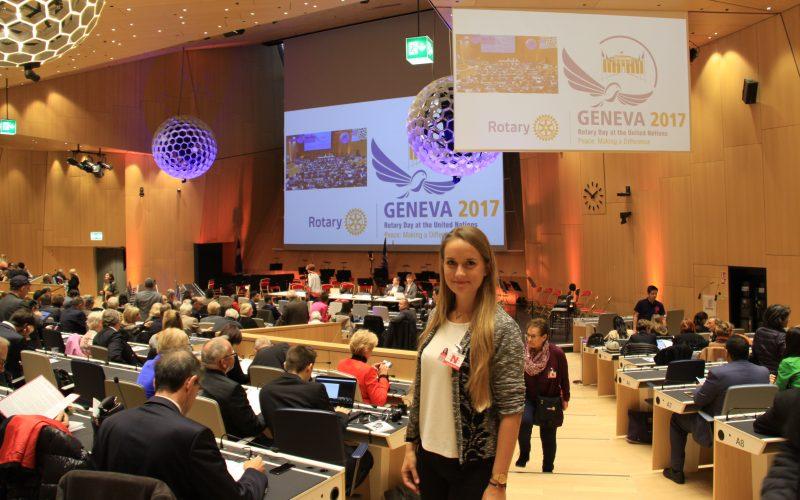 Dzień Rotary w Organizacji Narodów Zjednoczonych – Genewa 2017