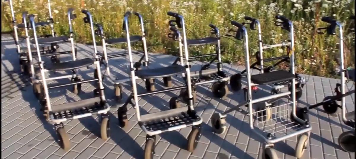Wózki i chodziki dla mieszkańców Giżycka i okolic