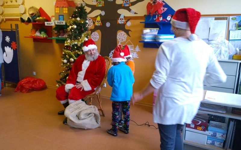 Mikołajkowe spotkania z dziećmi w Elblągu