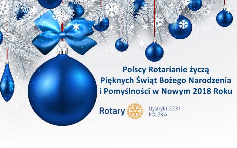 Życzenia od Rotarian