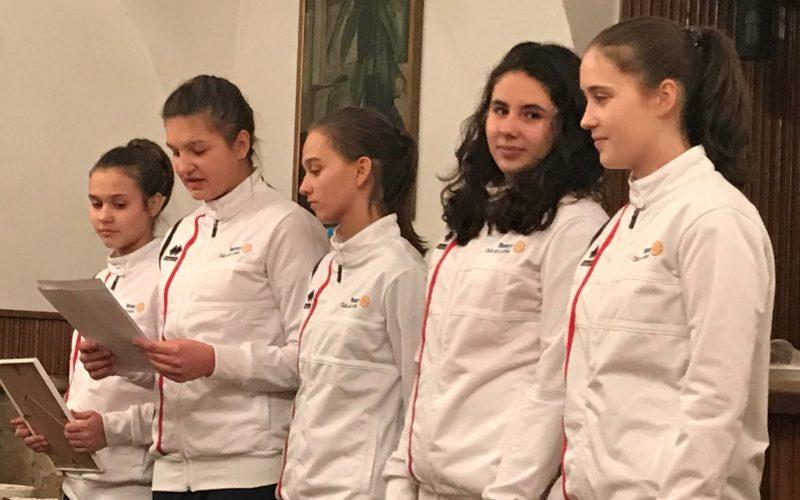 Rotary Club Lublin wspiera koszykarki