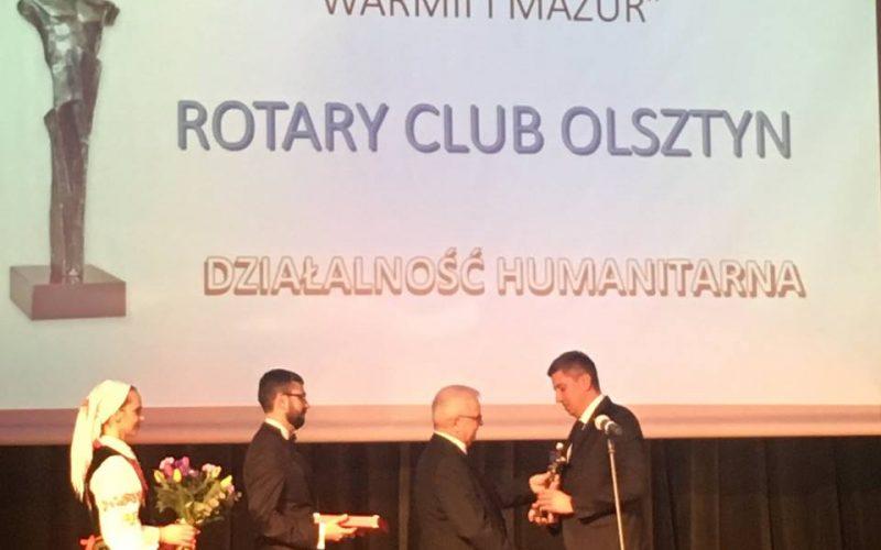 RC Olsztyn Osobowością Roku 2017 Warmii i Mazur