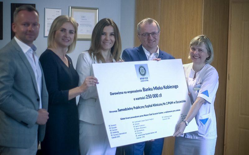 Oficjalne otwarcie Banku Mleka Kobiecego w Szczecinie już 24 maja