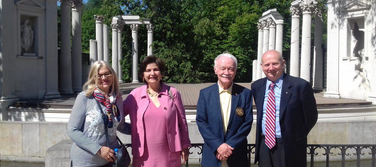 Wizyta Rotarianina z Włoch
