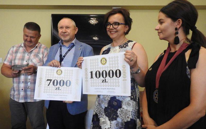 Rotarianie przekazali środki dla dzieci