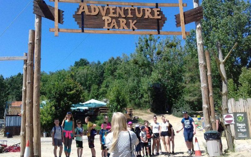 Familia w Adventure Parku