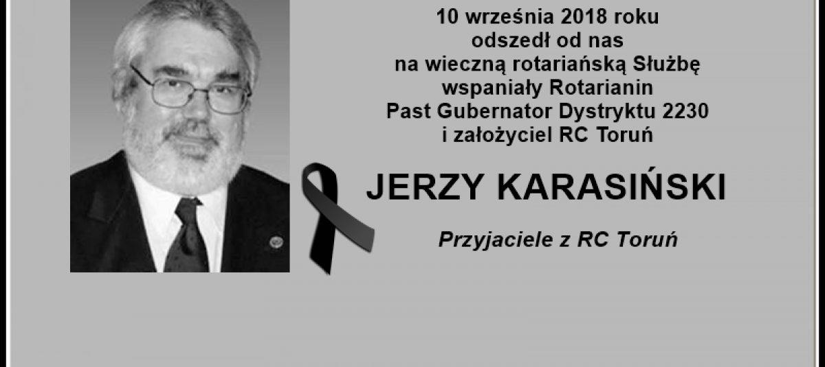 Ostatnie pożegnanie PDG Jerzego Karasińskiego