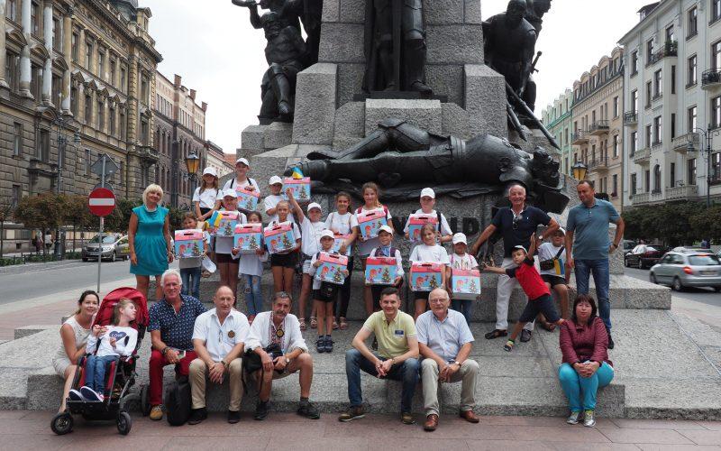 Ukraińskie dzieci odwiedziły Kraków