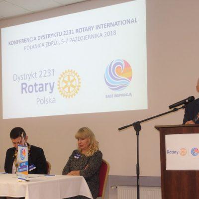 Konferencja Dystryktu 2231 Polanica Zdroj fot. Dorota Wcisla (44)