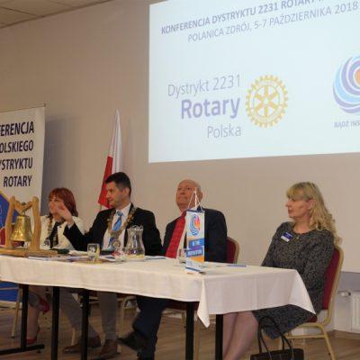 Konferencja Dystryktu 2231 Polanica Zdroj fot. Dorota Wcisla (47)