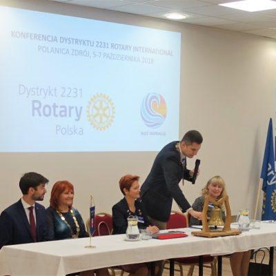 Konferencja Dystryktu 2231 Polanica Zdroj fot. Dorota Wcisla (6)