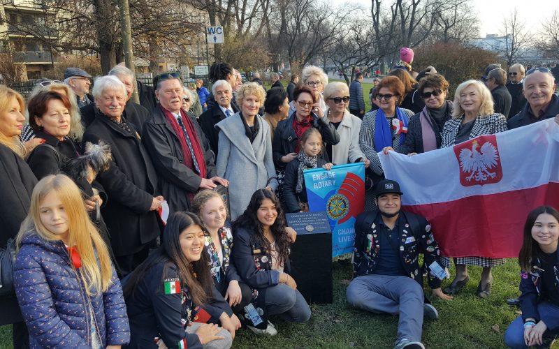 Drzewko z okazji 100 lecia niepodległości Polski
