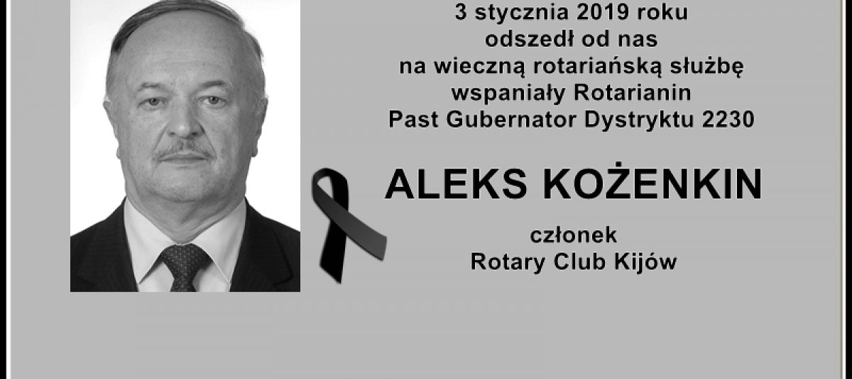 Ostatnie pożegnanie PDG Aleksa Kożenkina
