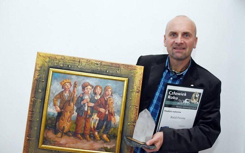 Rotarianin Rafał Fronia Człowiekiem Roku 2018